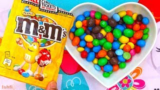 Lots of Colourful M&M Candy Show with Colour Song from Ishfi