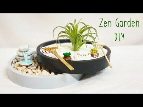Fairy Garden - Miniature Zen Garden - Yin Yang Peace Garden