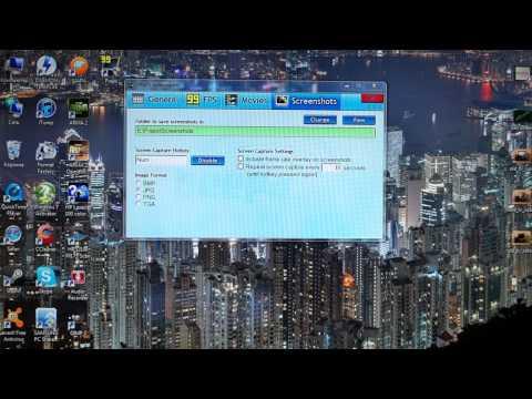 видео: Как снимать видео с экрана компьютера с помощью fraps