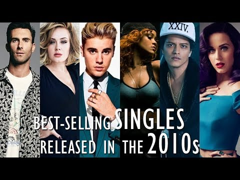 Best-Selling Singles Released in the 2010s