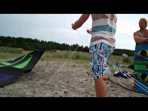 Samsung NX30 videotest - Læsø kitesurf weekend