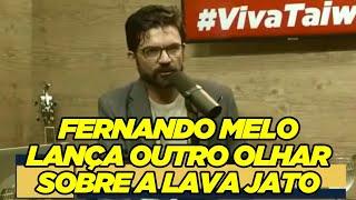 Fernando Melo lança outro olhar sobre a Lava Jato, passando por Aras, Moros e procuradores (AGO/20)
