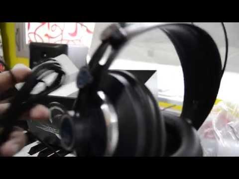 unboxing auriculares AKG K240 MK II