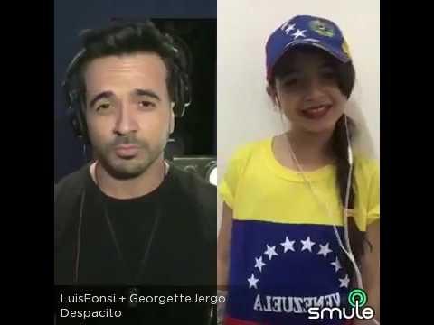 Smule despacito  Luis Fonsi ft Georgette Jergo