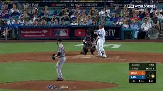 Justin Turner Go-Ahead 2-Run Homerun vs Astros | Dodgers vs Astros Game 1 World Series