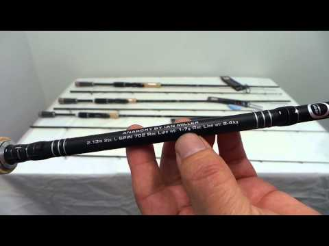 Shimano Anarchy Spin Fishing Rods Series