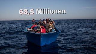 Flüchtlingszahlen von UNHCR: Ein trauriges Rekordjahr