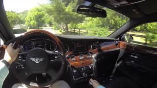 2016 Bentley Mulsanne Speed POV Test Drive