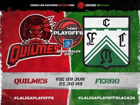 Liga Nacional: Quilmes vs. Ferro | #LaLigaEnTyC
