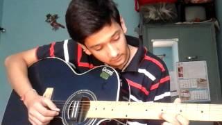 SUN RHA HAI NA TU (ON A SINGLE STRING ON GUITAR)IND