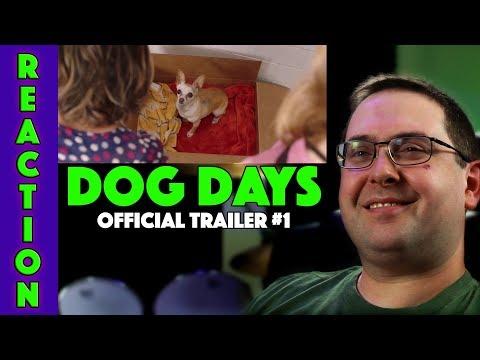 REACTION! Dog Days Trailer #1 - Nina Dobrev Indie Movie 2018