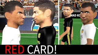 Cristiano Ronaldo Red Card vs Valencia Animated Parody | Uefa Champions league 2018/19
