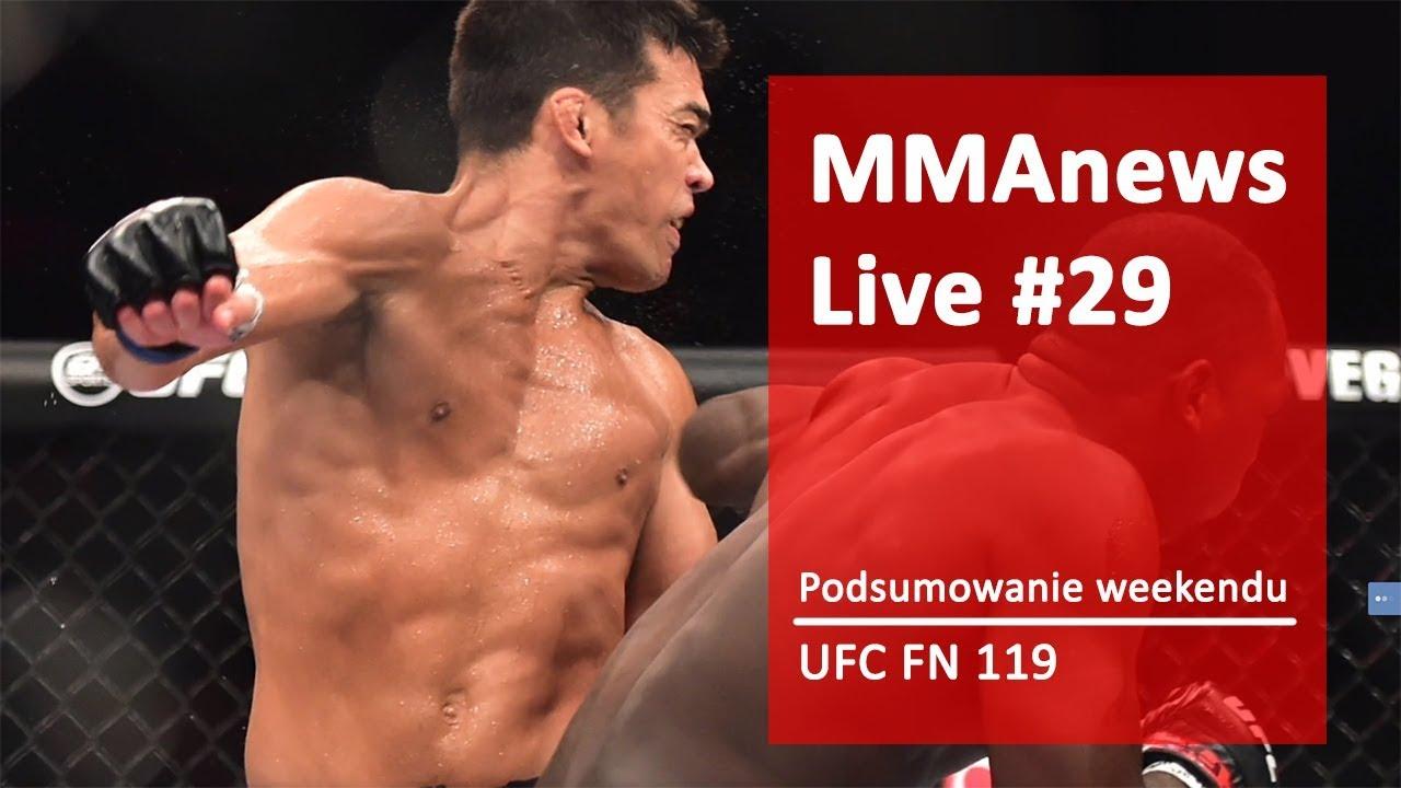 MMAnews Live #29 – Podsumowanie weekendu
