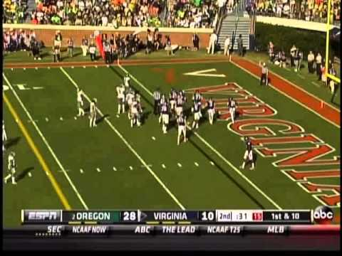 #2 Oregon vs Virginia 2013