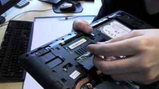 Lenovo G50-70 Notebook Laptop RAM HDD SSD Keyboard Upgrade Aufrüstung Tutorial