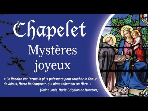 Chapelet - Mystères joyeux.