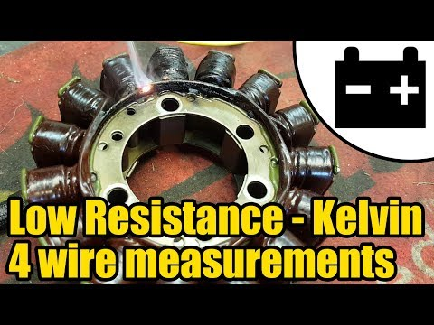 Using Kelvin 4 wire test to measure low resistance #1433