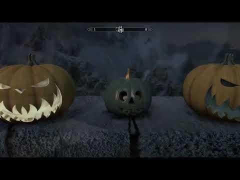 Skyrim Halloween Overhaul Mod - Skyrim Special Edition - Feat. Inigo And Vilja (by Accident)