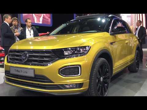 2018 Volkswagen T-Roc R-Line walkaround at Frankfurt Motor Show 2017