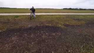 Sauchope and Aerodrome Crail Raceway on bikes