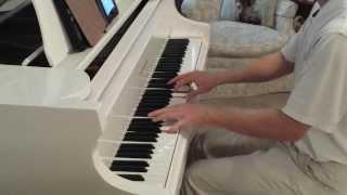 Frank Sinatra - New York New York! (NEW PIANO VERSION w/ SHEET MUSIC in Description)