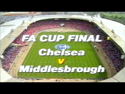 CHELSEA FC V MIDDLESBROUGH FC – FA CUP FINAL 1997 - 17TH MAY 1997 – PART ONE – MATCH HIGHLIGHTS.