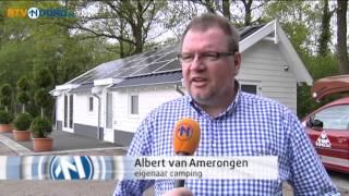 Energiezuinig vakantie vieren op camping De Barkhoorn - RTV Noord
