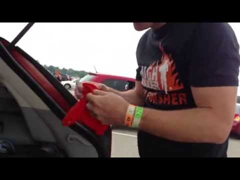 Guy finds out he's going to be a Dad after Tough Mudder race