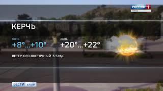 Погода в Крыму: облачно, местами пройдут дожди