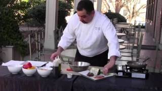 Lentil Salad ~ Recipe Thyme At The Carolina Inn ~ Chapel Hill, Nc