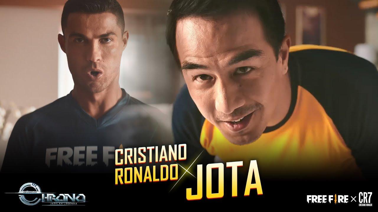 Kolaborasi Garena Cristiano Ronaldo Jadi Karakter Spesial Di Game Free Fire