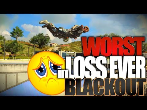 Blackout Worst Loss Ever! Black Ops 4 Blackout Beta Gameplay