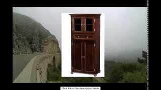 Hampton Bay 1 Drawer Tall Storage Cabinet 4-door Sequoia