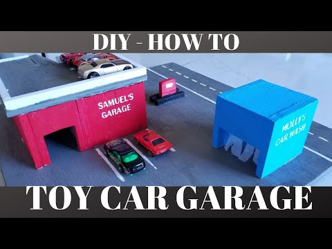 diy-garage-for-toy-cars---hot-wheels-/-matchbox-cars.