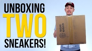 UNBOXING TWO BASKETBALL SNEAKERS! | Q4 Sports