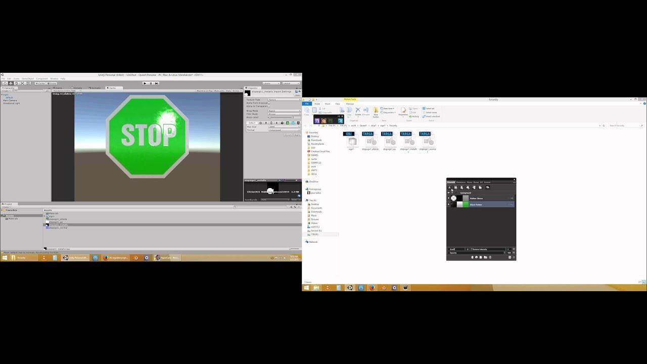 Unity 5 + Quixel DDO