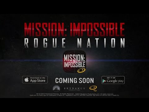 Official Mission Impossible  Rogue Nation  (by Glu Games)  Announcement Trailer (iOS / Android)