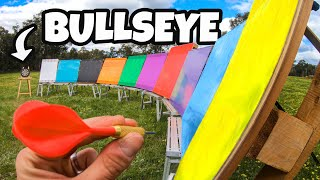 MOST EPIC BULLSEYE EVER! (10 Pallet Skips!!)
