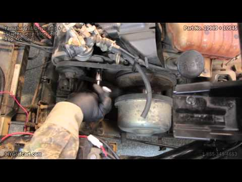 yamaha golf cart oil change 5 13