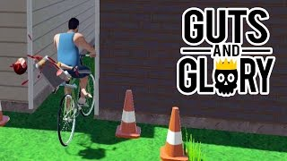 HAPPY WHEELS EM 3D!? Guts and Glory! (Pre-Alpha Gameplay)