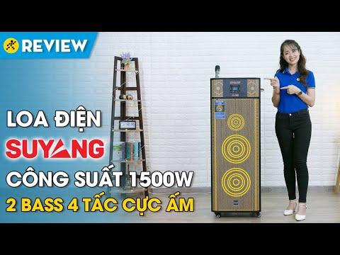 Loa điện karaoke SuYang: mạnh mẽ, công suất đến 1500W (X-168) • Điện máy XANH