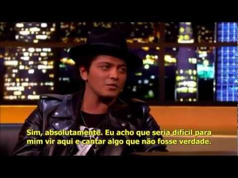 Bruno Mars  On The Jonathan Ross Show   Interview [LEGENDADO PT]