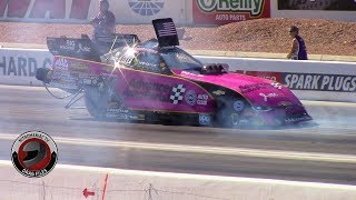 2017 NHRA Toyota Nationals @ LVMS (Part 33 - Nitro Funny Car Round 2 Eliminations)