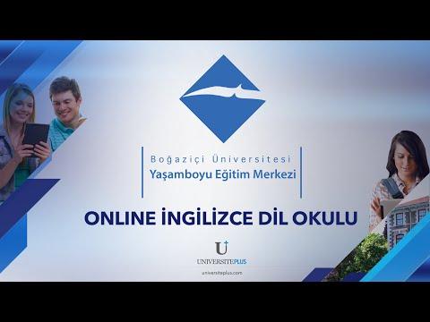 Online İngilizce Dil Okulu Boğaziçi Üniversitesi Yaşamboyu Eğitim Merkezi