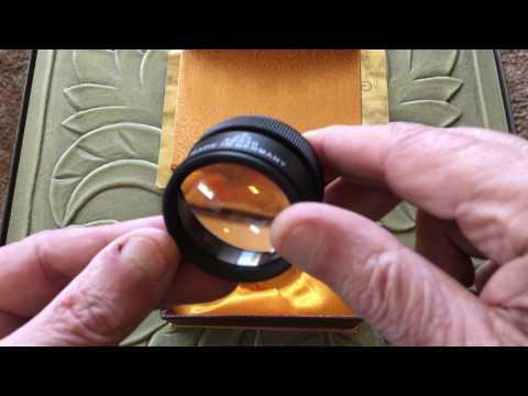 DEMO of a Good 30X Loupe Optical Magnifer 313