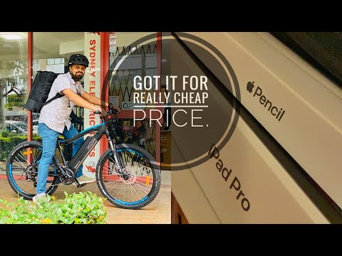 Brought NCM moscow bike || IPAD PRO 11'' || Very Cheap Price.