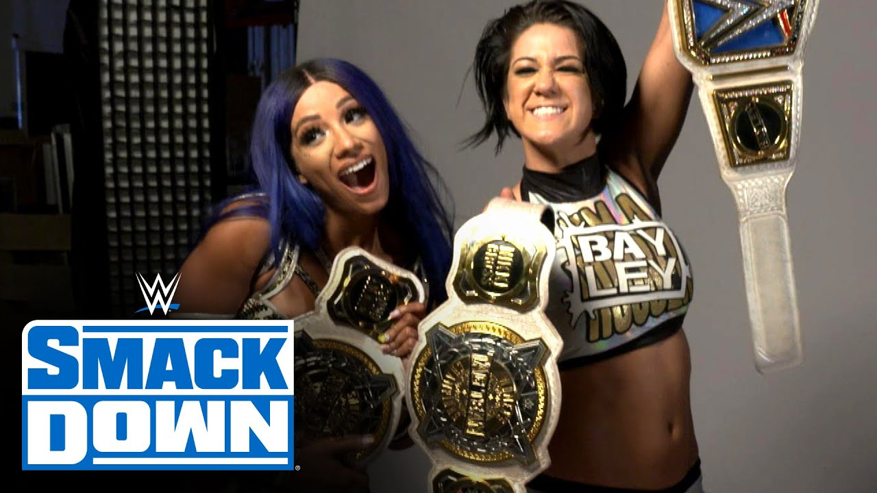 Bayley Wants To Run The Entire WWE With Bestie Sasha Banks 1