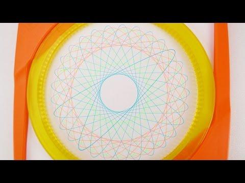Mandala selber machen mit Spiral Designer | coole Bilder mit Spirograph malen