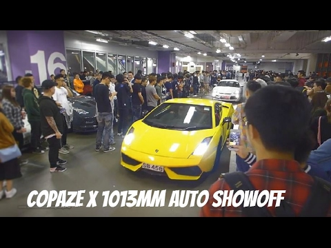 "【Hong Kong Walk Tour】Copaze x 1013mm Auto Showoff 2017 HK @ Kowloon Bay ""Megabox Shopping Mall"""