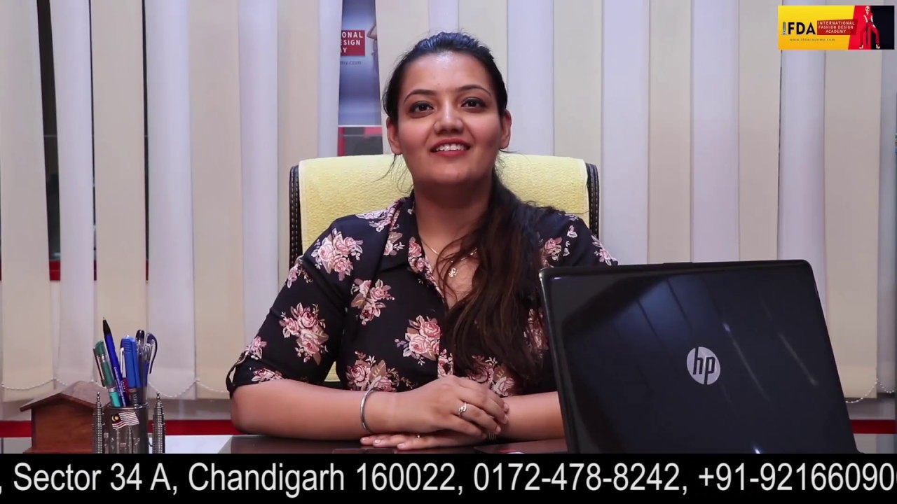 Ifda Chandigarh Best Fashion Designing Institute In Chandigarh Call 91 9216609009 Youtube